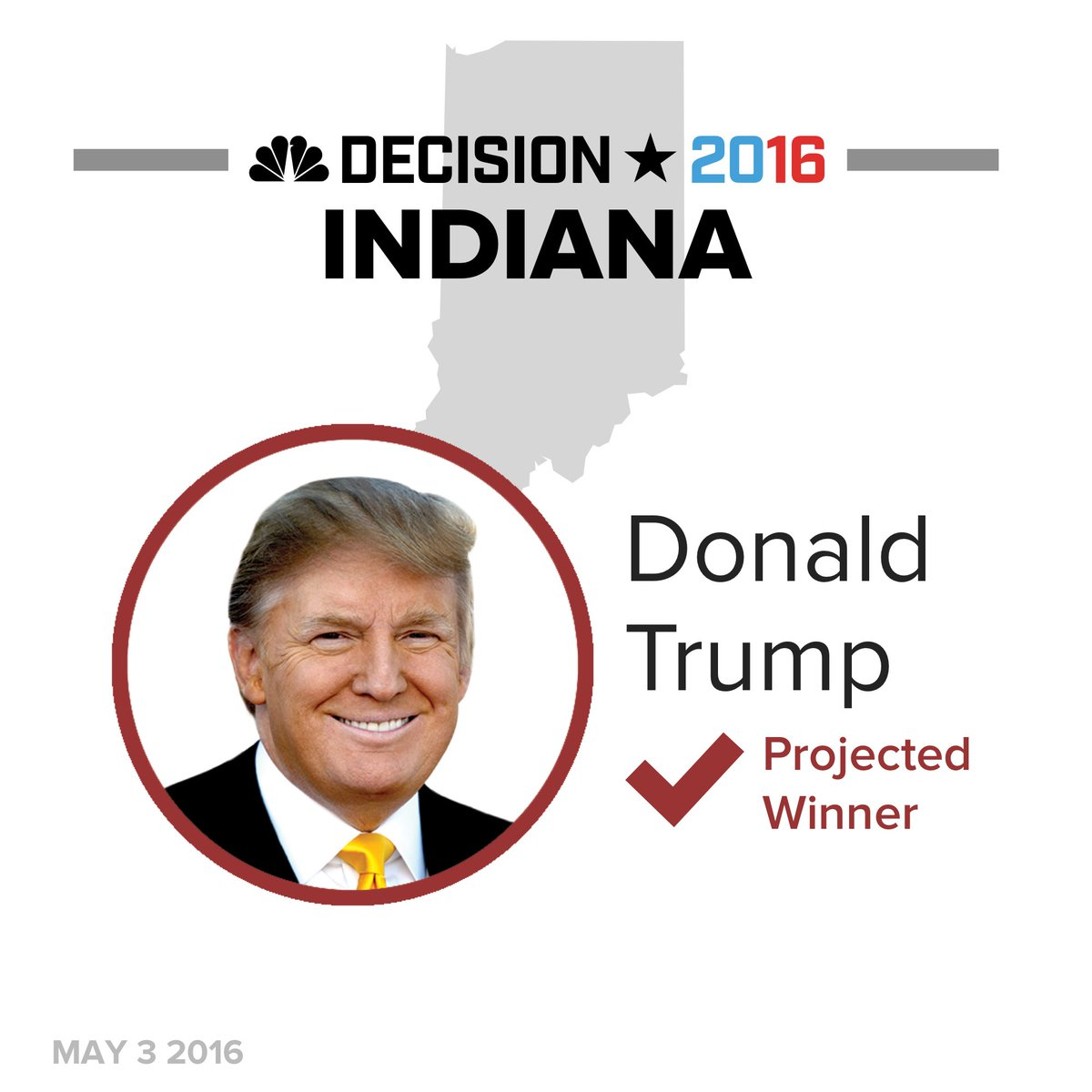 Donald Trump wins YUGE in Indiana GOP primary