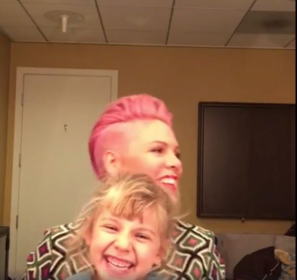 ICYMI - Check out @Pink's live chat from a few mins ago with her co-star Willz https://t.co/tpB0RX7NgY https://t.co/tOzRBC4K5y