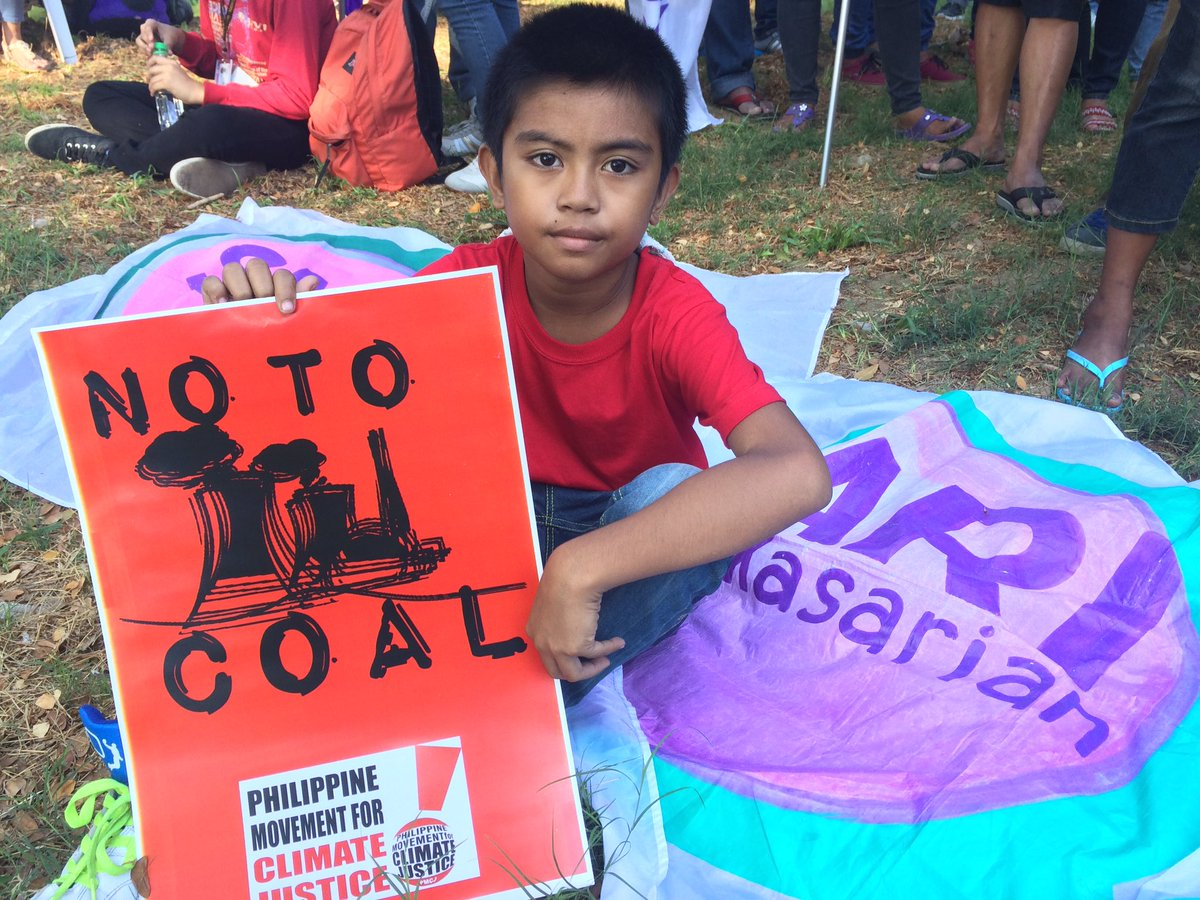 End the age of coal for our children's future! #breakfree2016 #piglaspilipinas https://t.co/YWyhvZYBag