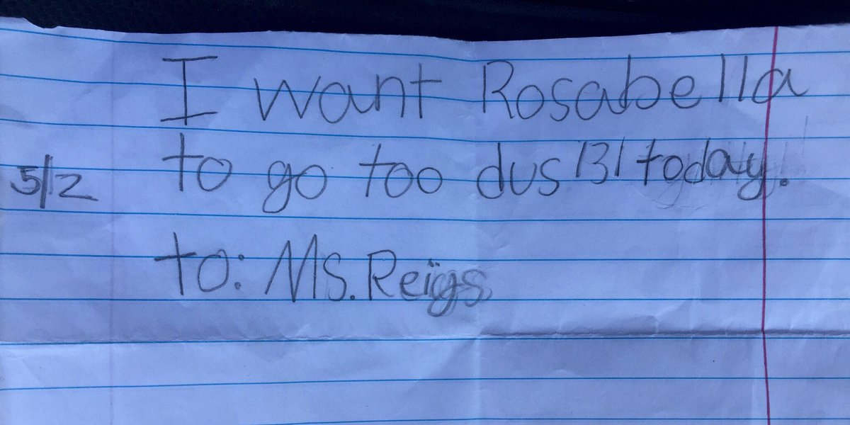 Texas Grade School Doesn't Recognize Fake 7 Year Old's Note
