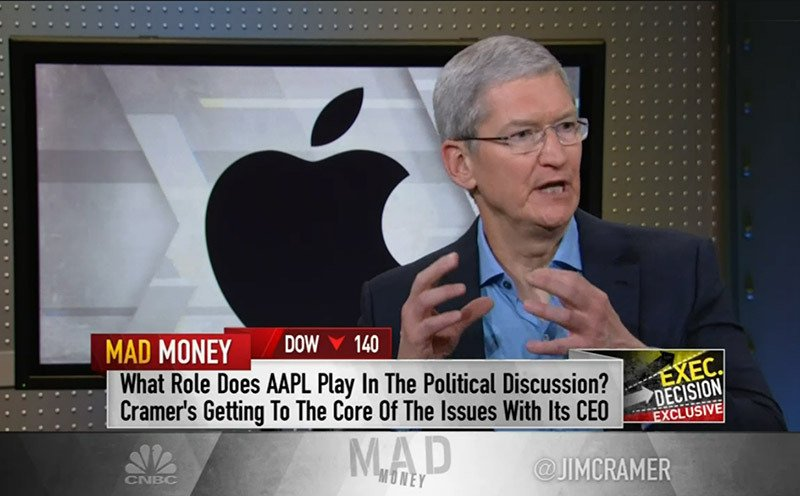 Tim Cook talks Apple ethos, government issues, role models and more https://t.co/v9HwebtbID