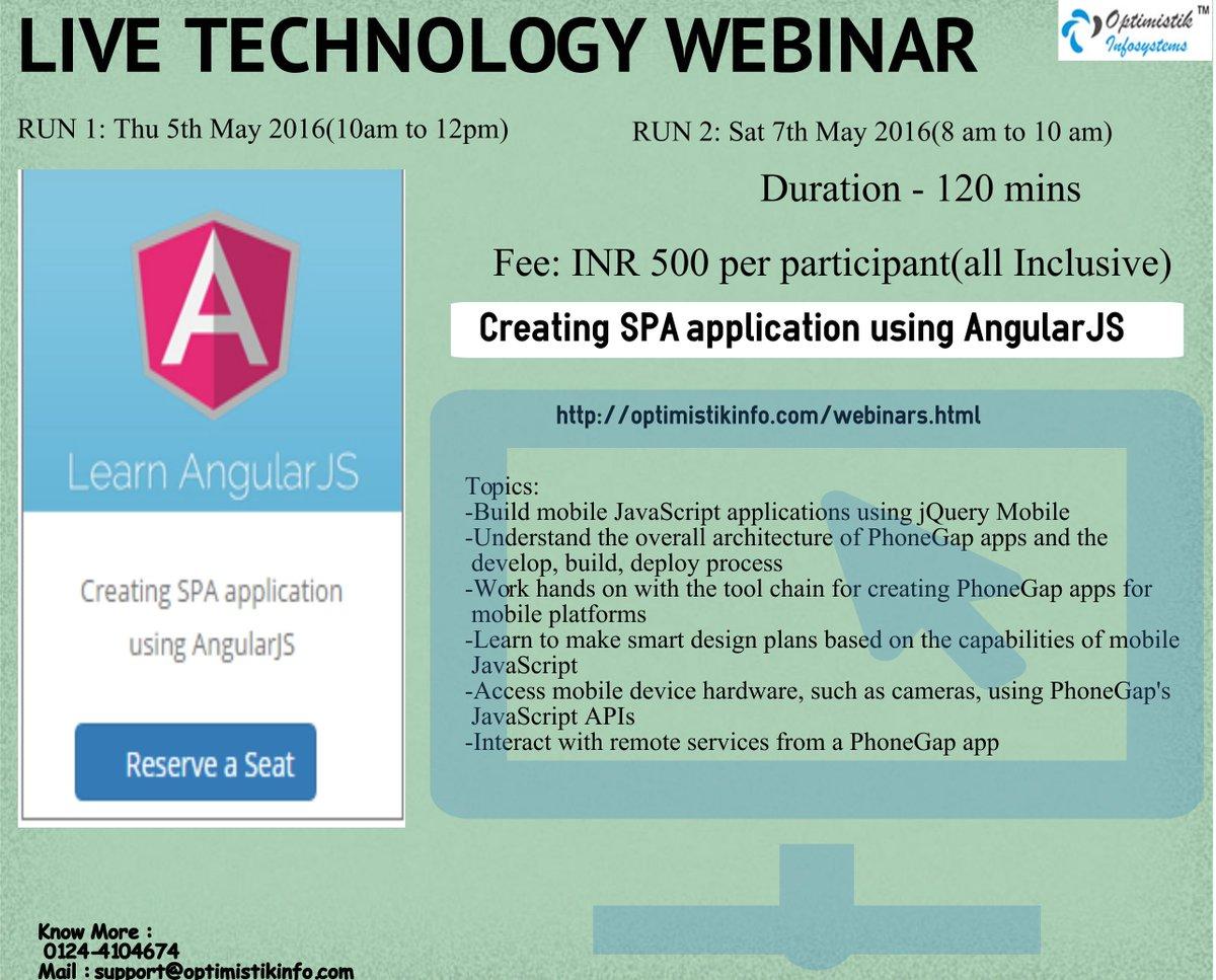 Creating SPA application using AngularJS