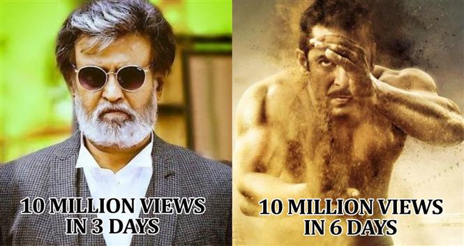 #Kabali teaser beats #SalmanKhan's teaser to become the fastest to reach 10 million views! https://t.co/3rnsawKgO3 https://t.co/xTQ3EhQiuM