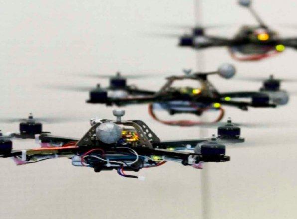 Formula 1 volante: la gara di mini-droni a Roma Drone