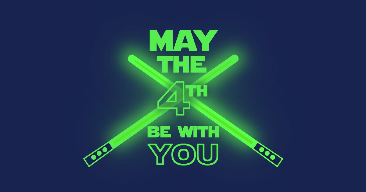 Happy #StarWarsDays to all geeks and nerds... today is our day! #MayThe4thBeWithYou https://t.co/3Fm8PrSsBd