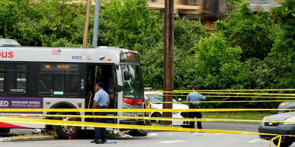 A busjacking in Washington, D.C., turned fatal when the bus hit a pedestrian
