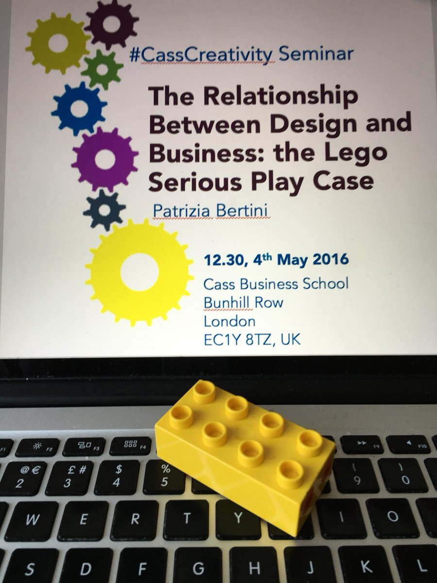 Am very much looking forward to the #CassCreativity @creativity_city seminar at @cassbusiness on #Lego Serious Play https://t.co/6mmvAV3Mwj