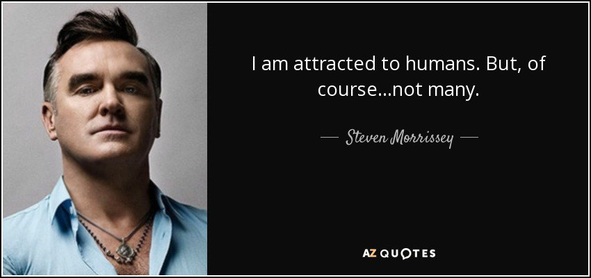 morrissey sexuality