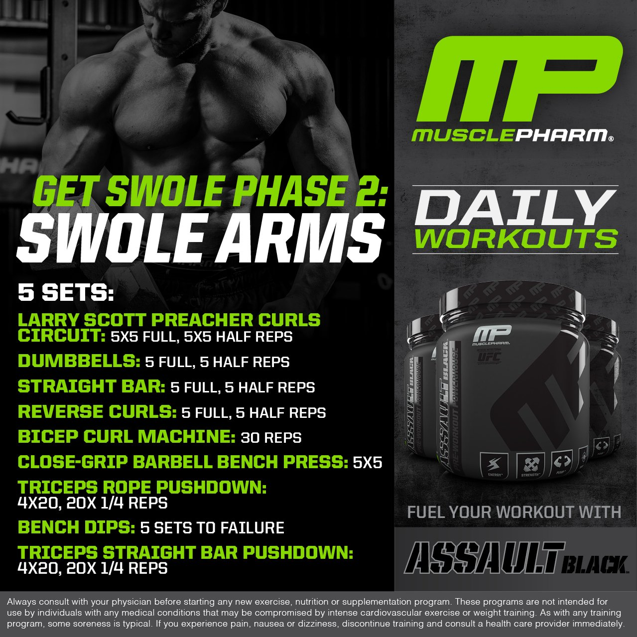 """Denver Pdf Indonesia: MusclePharm® On Twitter: """"MusclePharm Daily Workouts! Arms"""