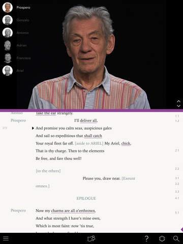 .@IanMcKellen has released an app devoted to making Shakespeare more accessible! https://t.co/obkX5uaYex https://t.co/aL01NbbTVA