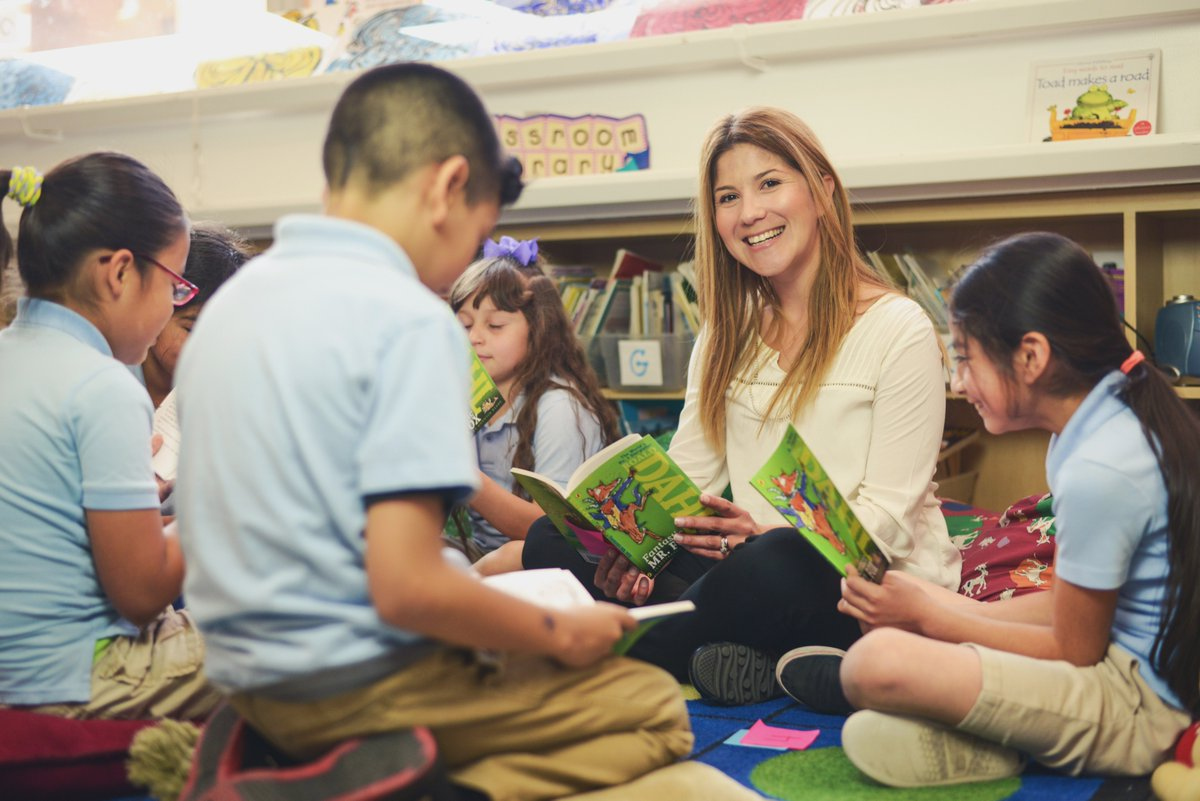 Help us #ThankATeacher like Ms. Reeve by donating $1 at any @Burlington store to benefit @DonorsChoose now-6/11