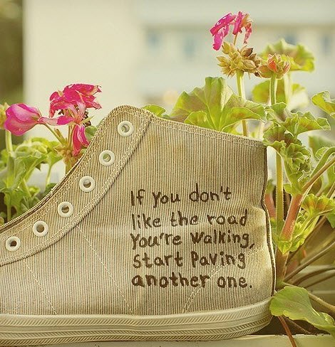 If you don't like the road you're walking, start paving another one  #quote #leadership #success #biz https://t.co/CN2rl2wPsG