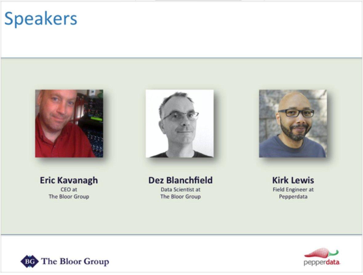 THE BLOOR GROUP WebEx Enterprise Site