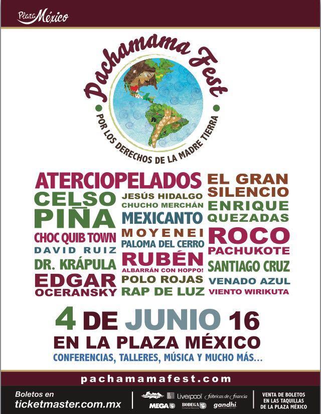 Amigos de la Bella Ciudad de México, 04 de Junio en La Plaza México @pachamamafest  EL GRAN SILENCIO PRESENTEEEE https://t.co/kdtZ8eWzO4