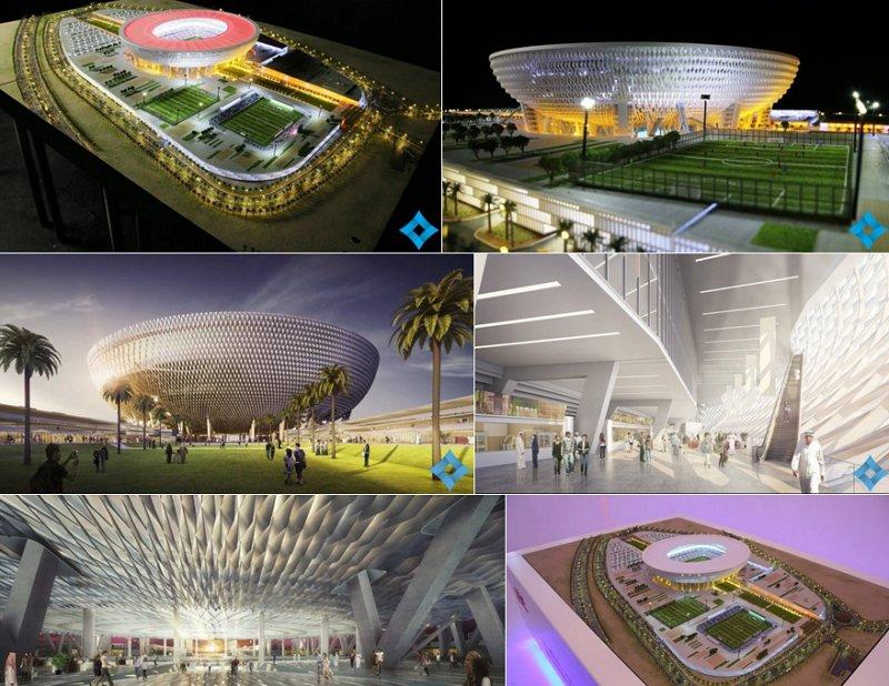"""""""ملعب محمد بن راشد"""" .. تحفة رياضية جديدة في دبي Cho6iqlWkAAurRW"""