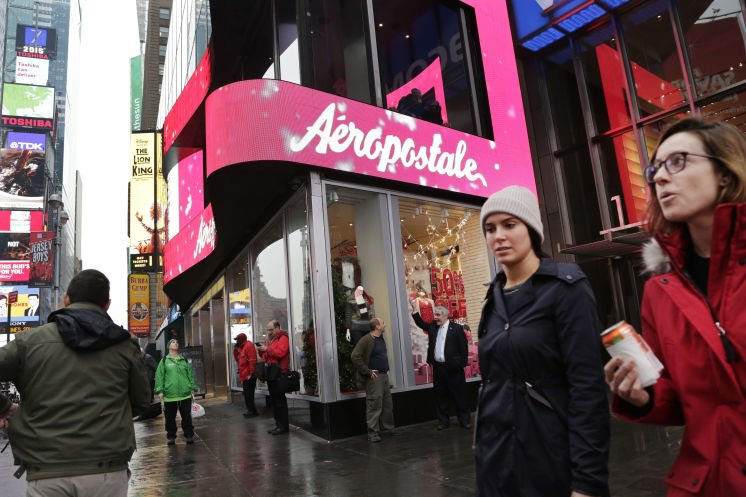 Aéropostale files for Ch. 11 bankruptcy protection, to close 113 stores