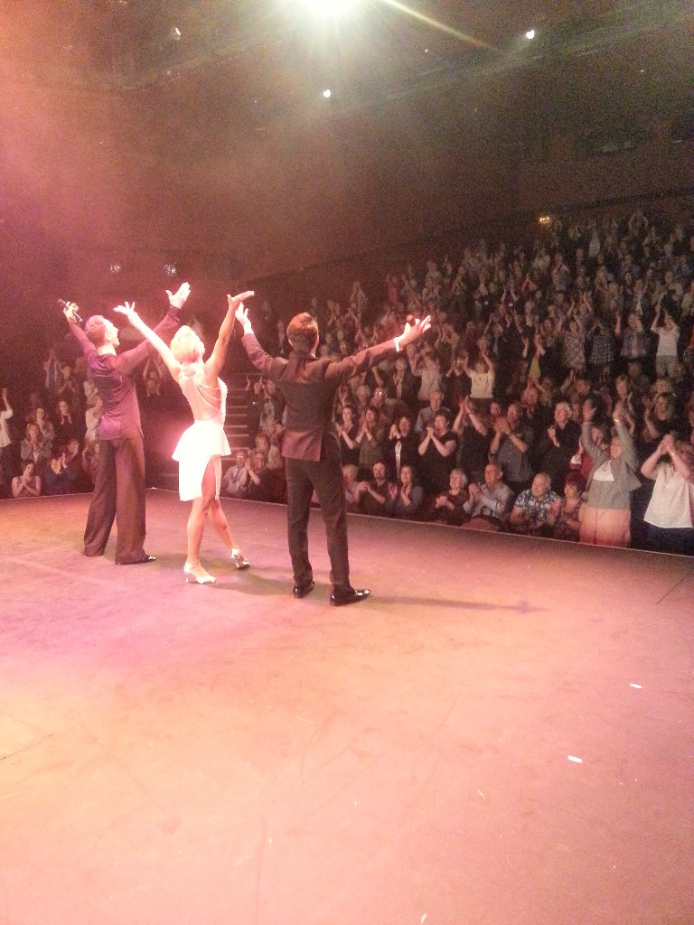 RT @AudienceWith: Thank you to everyone @mercurytheatre and our matinee audience earlier today @ianwaite @RealNatalieLowe @Luke_Upton https…