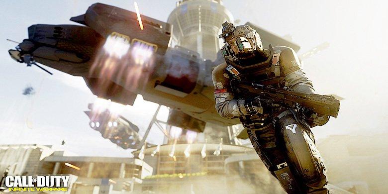 'Call of Duty: Infinite Warfare' Trailer Reveals The Franchise Is Heading Into Space https://t.co/3vv0Gm4jxP https://t.co/IDalzonDve