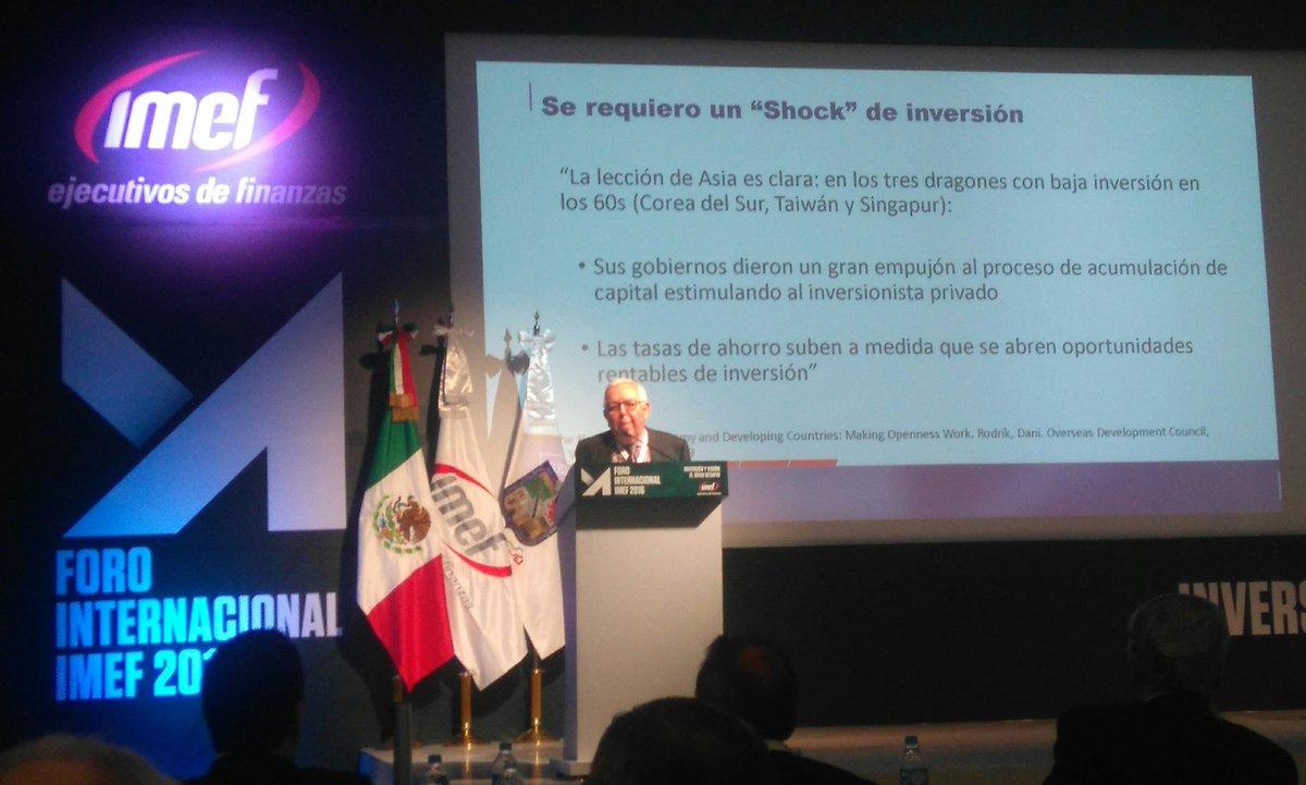 Fortaleza Empresarial: Eje de la visión e inversión en México. Fernando Turner SEDEC @FTurnerDavila @IMEFOficial https://t.co/T46hflqJp1