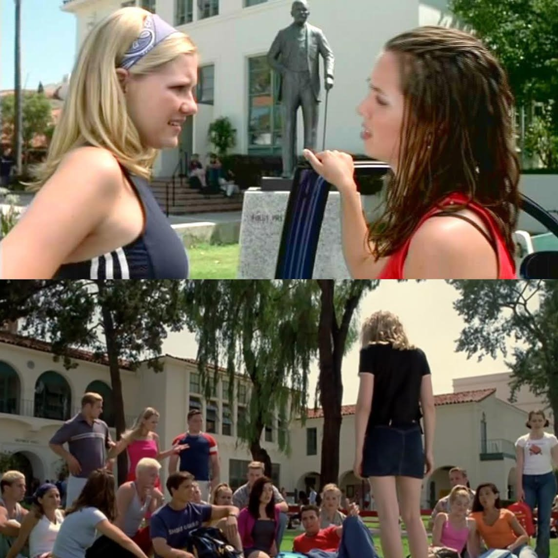 The movie, #BringItOn, was released 16 years ago, today!  Did you know that it was filmed here at #SDSU? https://t.co/jhXRvoZkox