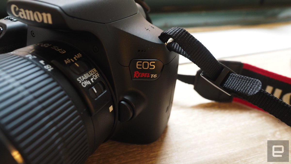 We spent some time with Canon's new entry-level DSLR, the EOS Rebel T6
