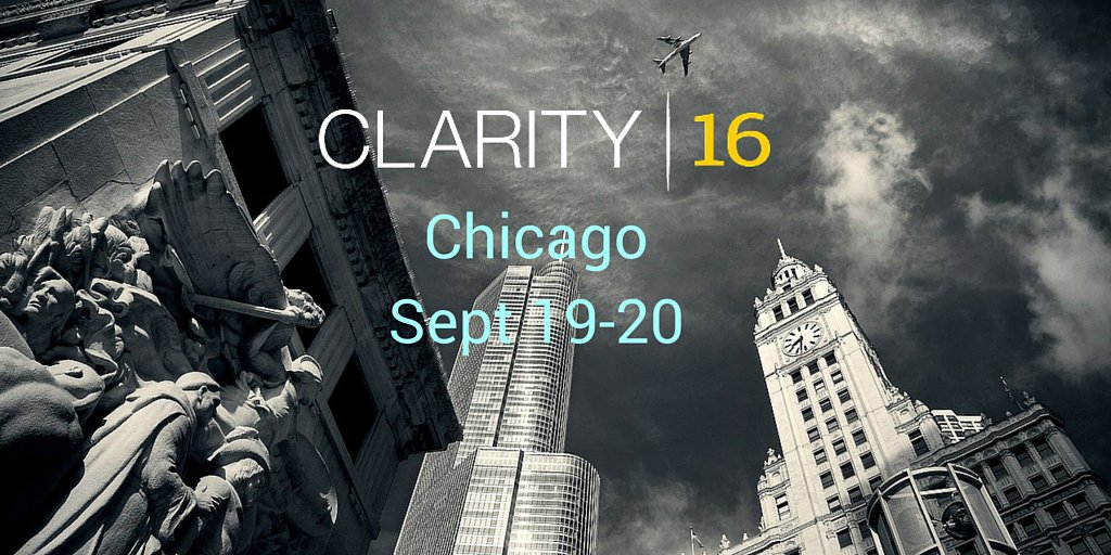 clarity16 hashtag on Twitter