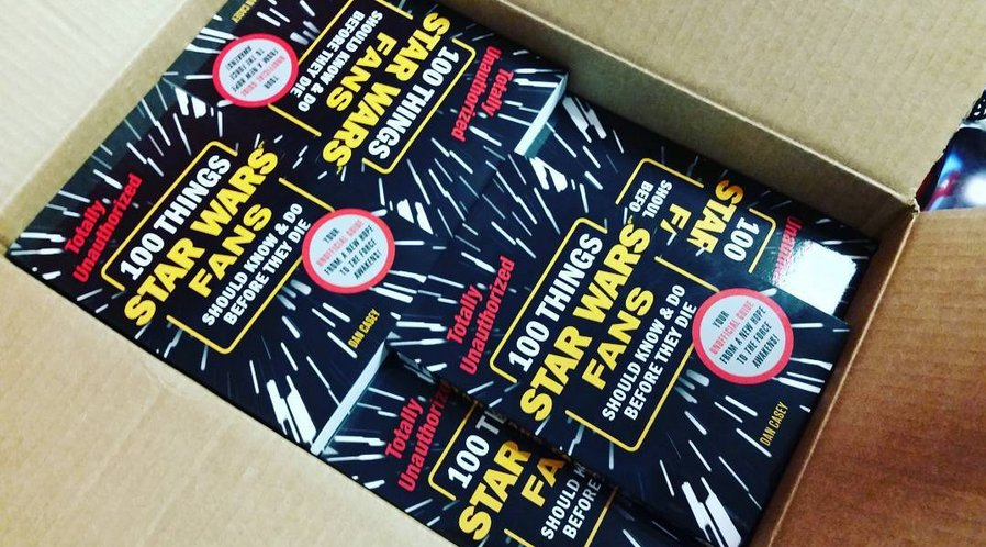 Dan casey on twitter celebrate starwarsday by buying a copy of my 100starwars book https t co gwkx76boua maythe4thbewithyou
