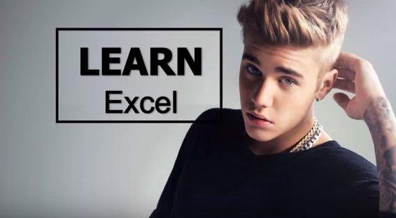 "Prof @ClintTuttle makes MIS students ""#Beliebers"" in Excel: https://t.co/unqiGDX9Js @UTAustin @justinbieber https://t.co/IYSJxd57pB"