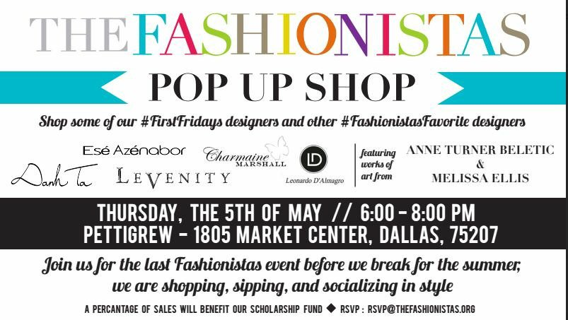 Don't miss tomorrow night #PopUpShop with some of the best #DallasDesigners at #Pettigrew #LifeAsAFashionista https://t.co/Gc2XFDSRXb