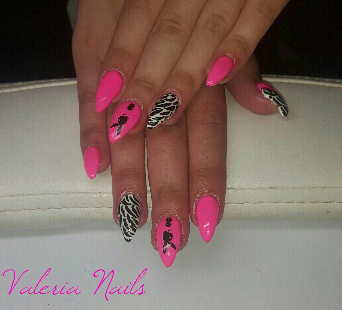 Valeria On Twitter Refil Unghie Nails Gel Rosa Fluo Neon