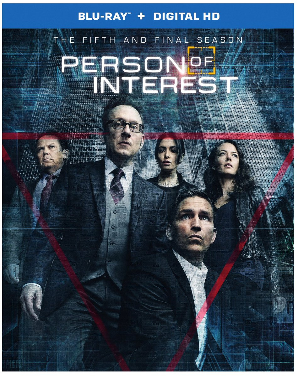 There's also a complete series set coming for #PersonOfInterest on July 19th. (Blu-Ray/DVD) And here's the s5 cover. https://t.co/KnAFdfwPx5
