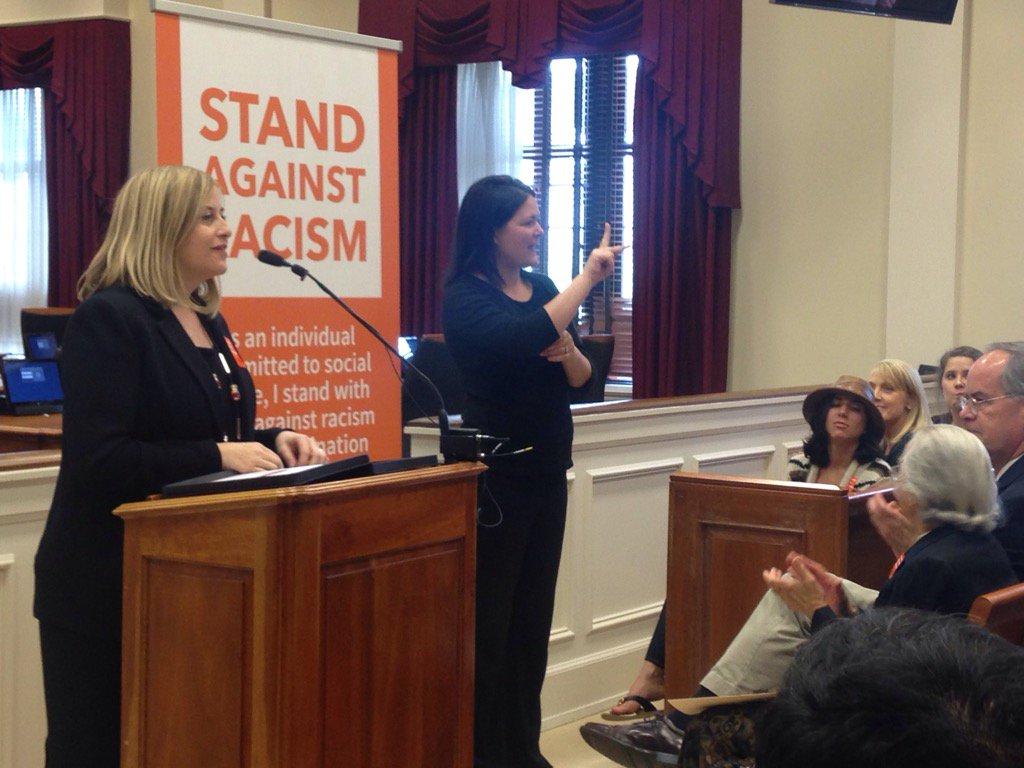 Thank you @MayorMeganBarry for co-hosting #StandAgainstRacism and helping us bring Nashville together. #OnAMission https://t.co/9kOmRlvuDa
