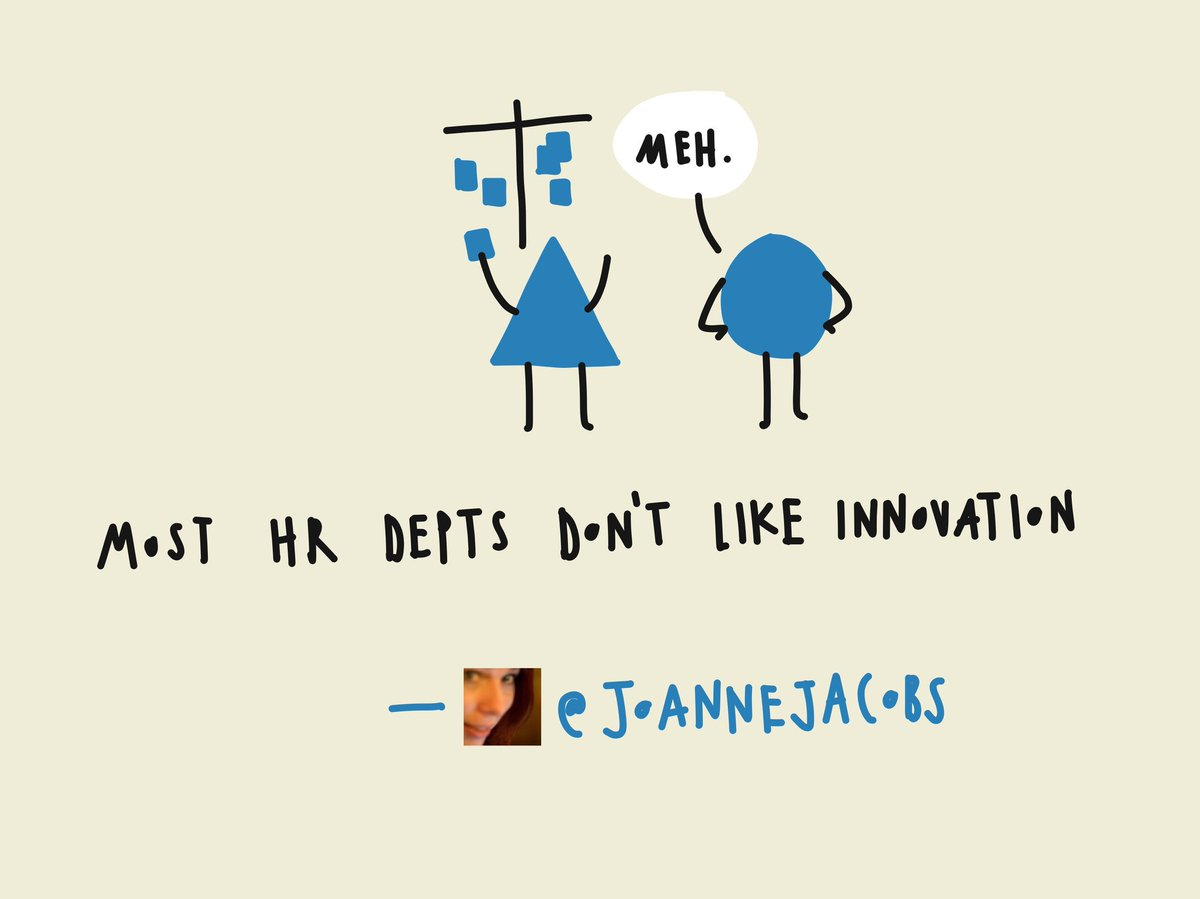 Most HR departments don't like innovation @joannejacobs #AITD2016 https://t.co/VOn9hRZkSe