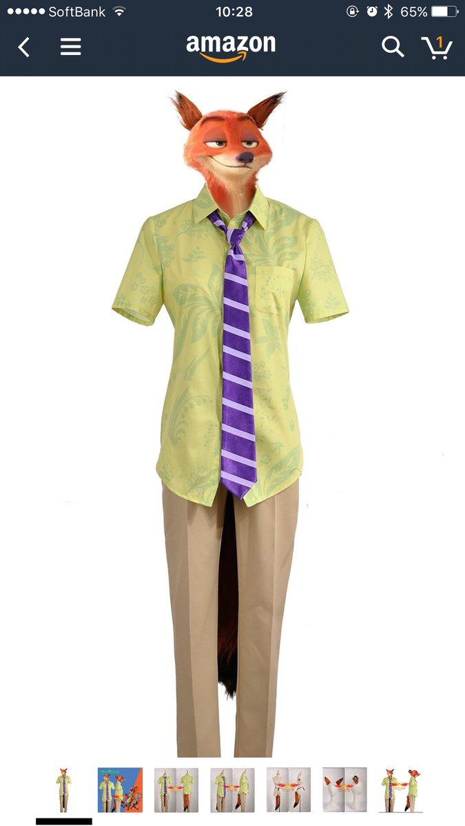 イギリスAmazonで販売されてるニックコス衣装の画像がじわじわくる https://t.co/nEaViwO08Q