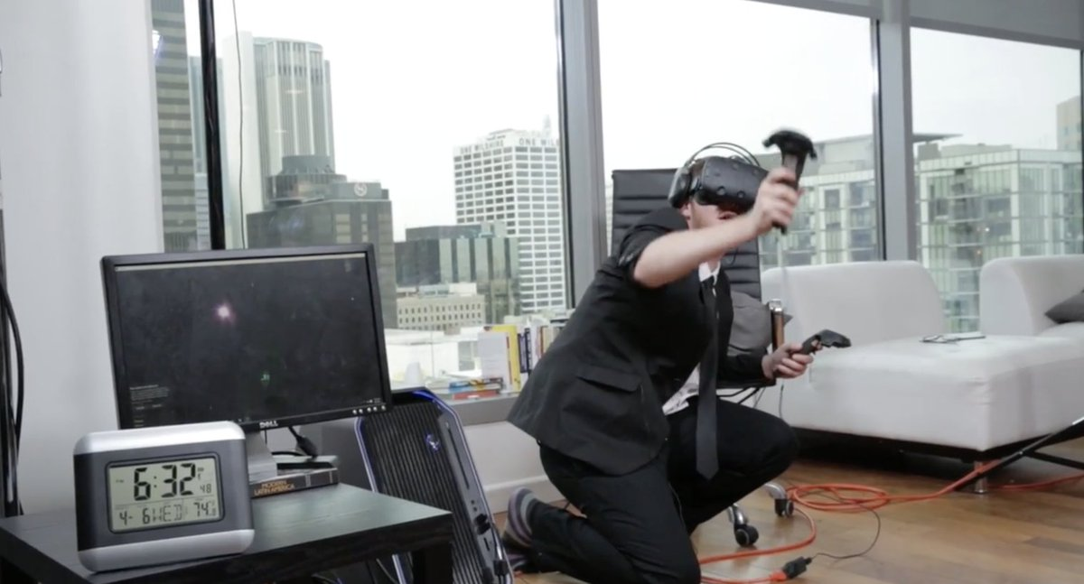 Man sets Guinness World Record by spending 25 straight hours in virtual reality