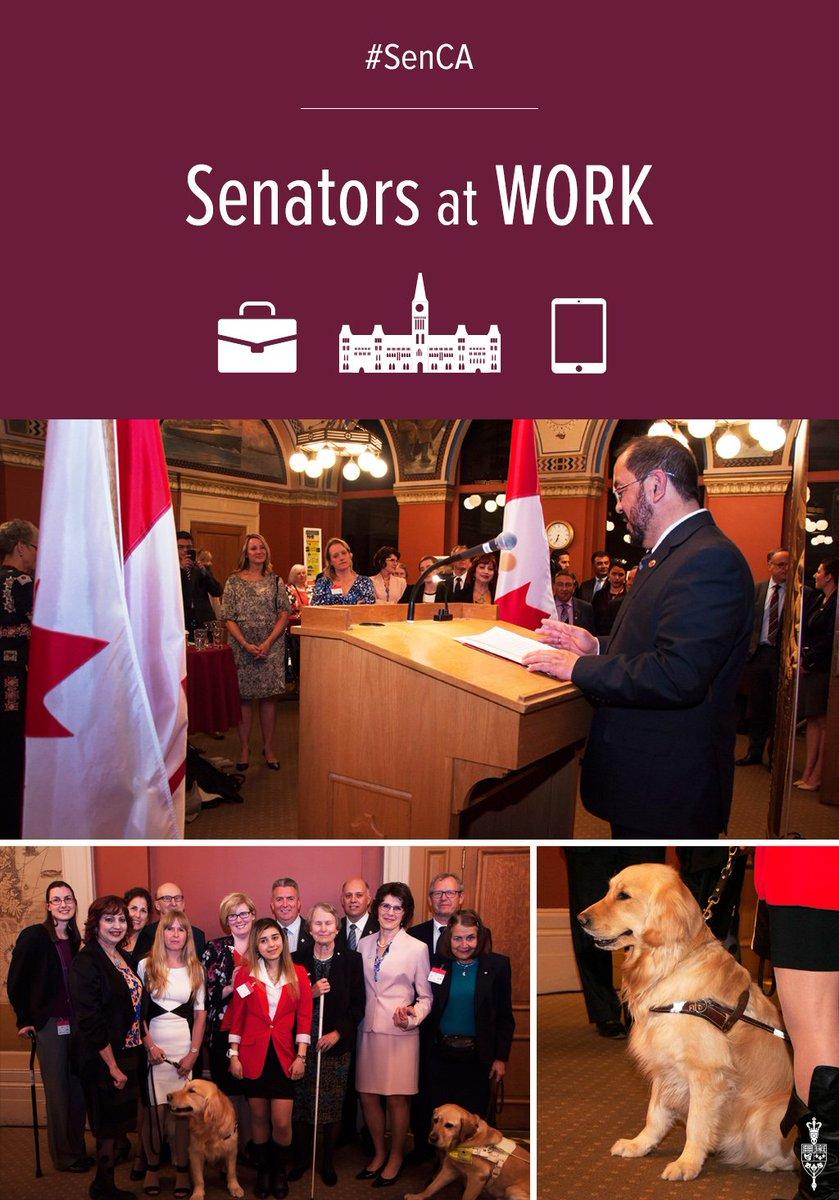 Senator Enverga @AshaSethSenator @CNIB celebrate #VisionHealthMonth2016 #SenCA https://t.co/saG6sXo15F