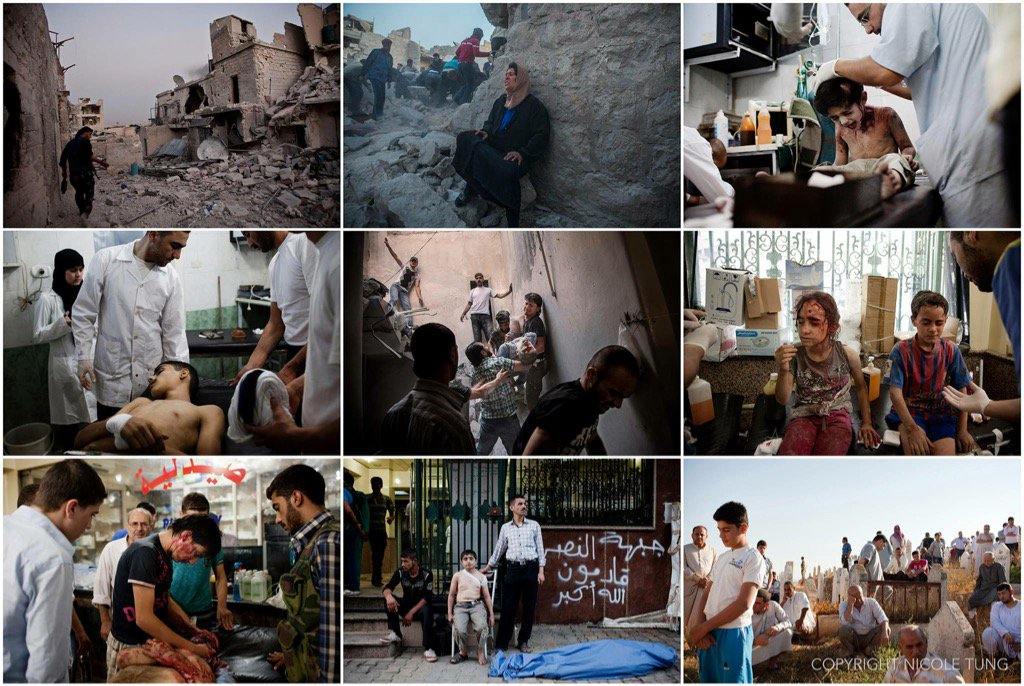 My colleague @nicoletung6 haunting shots of the war against civilians in #Aleppo #dispatchesfromsyria https://t.co/CwyVAbAEew