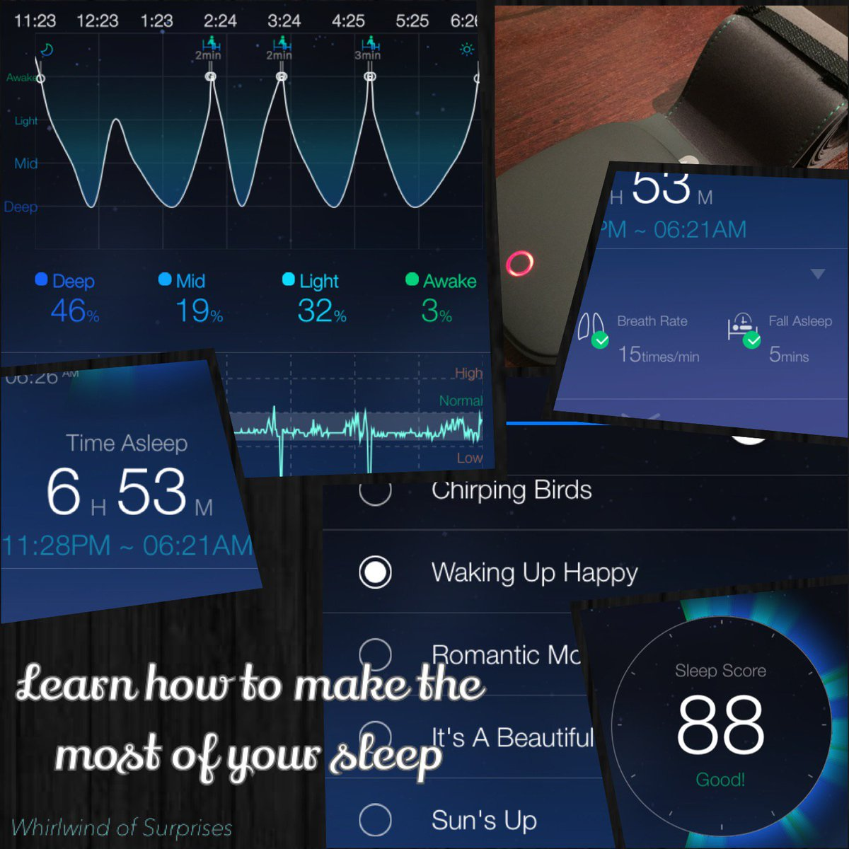 Sleep Tips with a sleep monitor