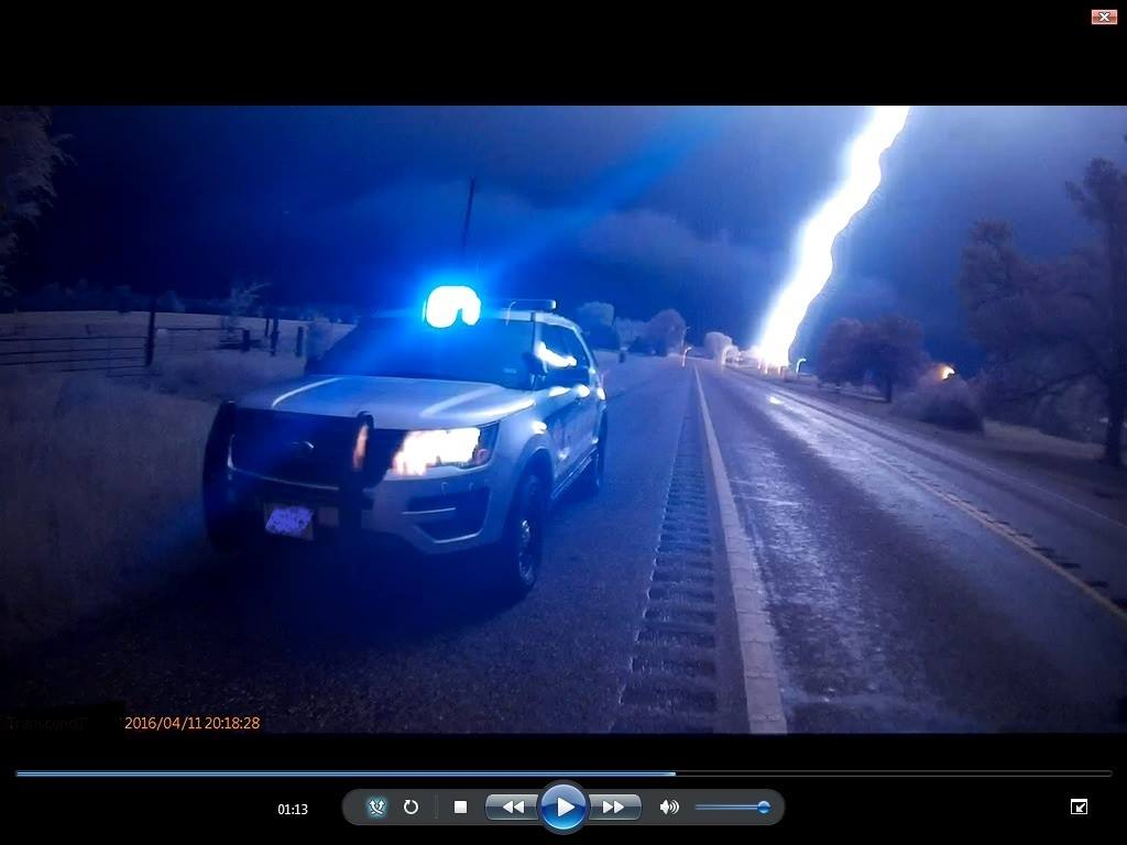 Sheriff's office shares stunning image from body cam