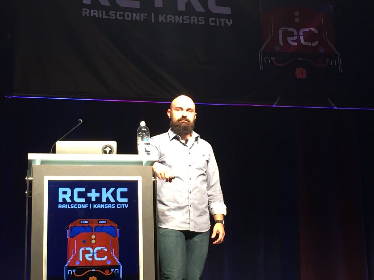 The original Skunkworks courtesy @nmeans at @railsconf's first evening keynote. Build what matters; hack the rest. https://t.co/UHEE4gOsAQ