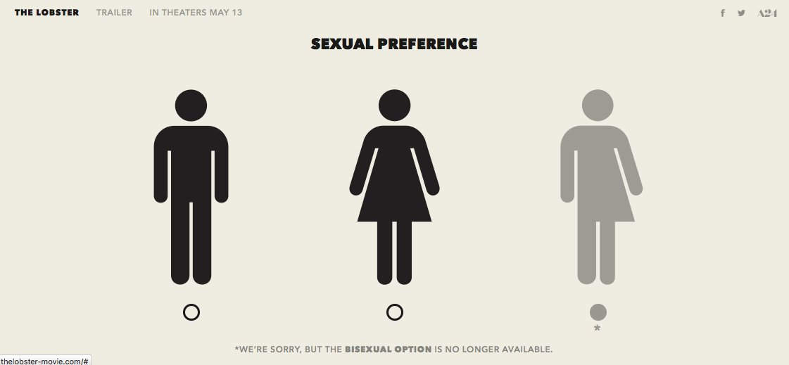 The bisexual test