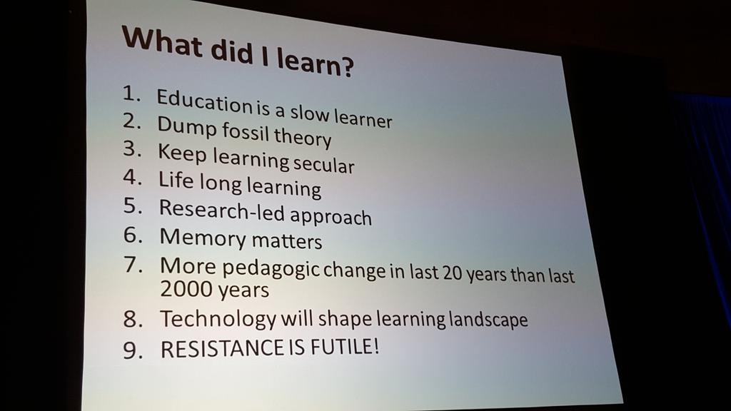 What @DonaldClark learned #AITD2016 https://t.co/seKVB7332y