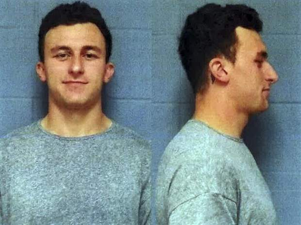 Johnny Manziel booked in domestic violence case ottsports