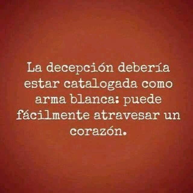 Es el arma más letal si quieren destruirte. #la #decepcionarte #frasesdedecepcion ##trizteza #deberia #estar #catal…