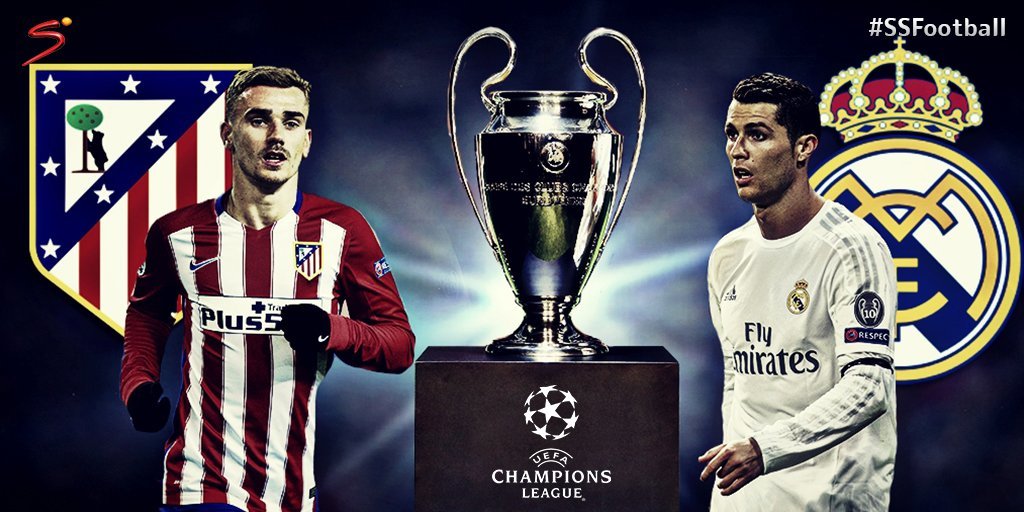 Uefa Champions League Final Decided Real Madrid Atletico Madrid San