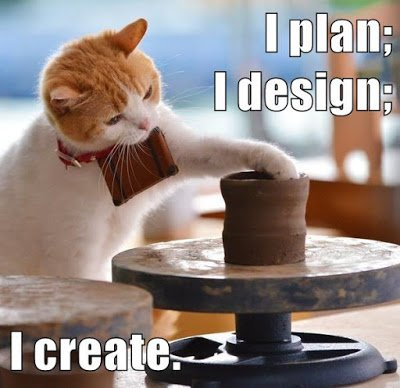 Today's #growthmindset cat is a maker cat! I plan; I design; I create. Details: https://t.co/XXylUz2wG5 #MindsetPlay https://t.co/ioMvtbiks8
