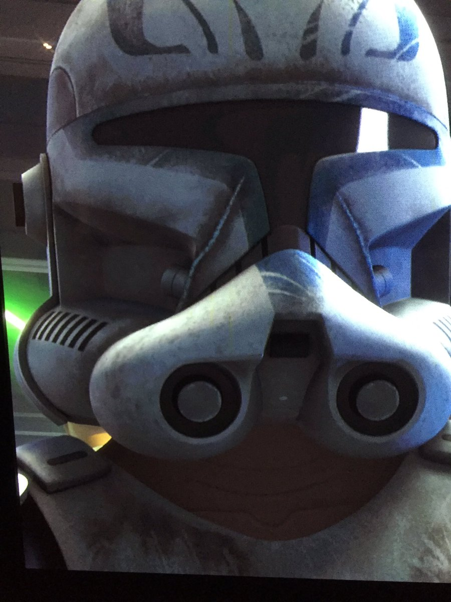 May the 4th follow up: Rex in Season 3 looking like classic Clone Wars.  #MayThe4thBeWithYou https://t.co/R4XE6artEX