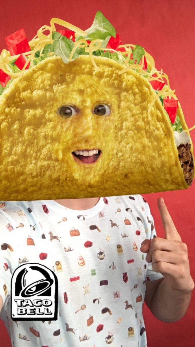 Publicité Snapchat Taco Bell