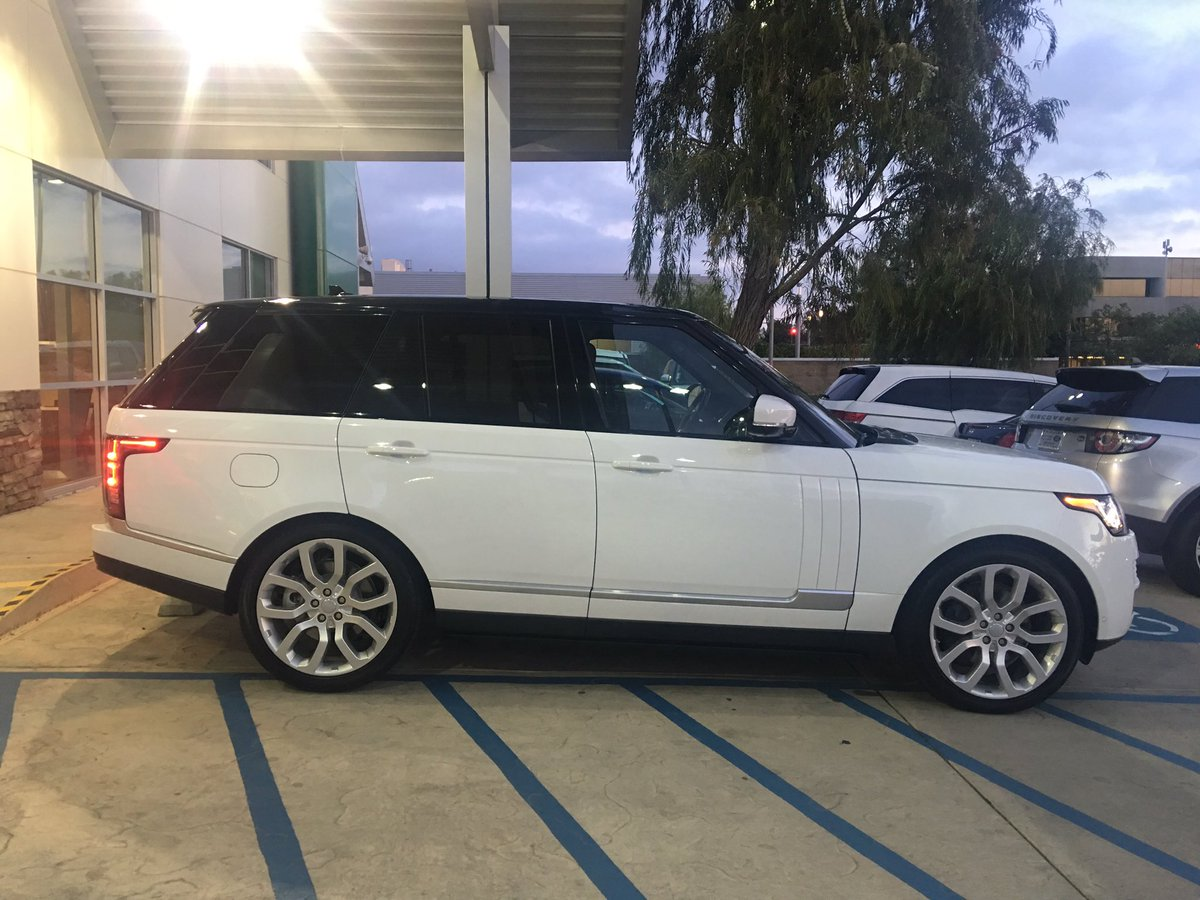 Rug On Twitter My Brand New Car 2016 Range Rover Supercharged So Hy