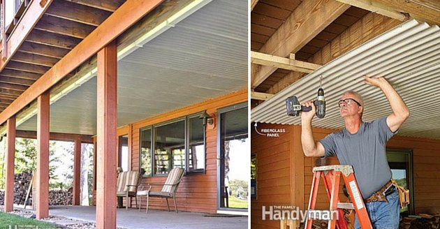 Family Handyman Mag On Twitter Quot Build An Under Deck Roof